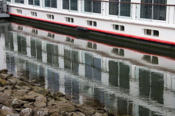 Spiegelung Schiff