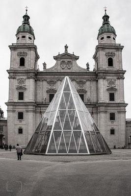 Salzburg - Domplatz