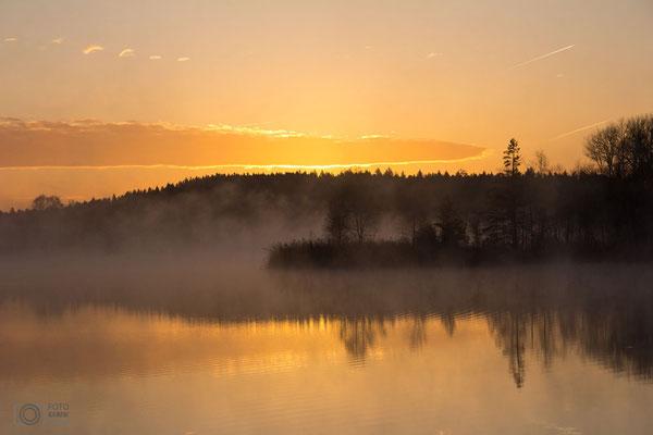 Sonnenaufgang in Seeon