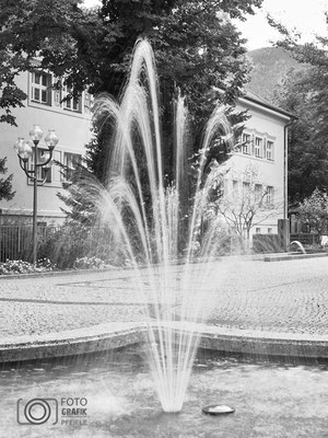 Brunnen in Bad Reichenhall