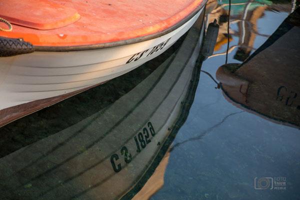 Spiegelung Boot
