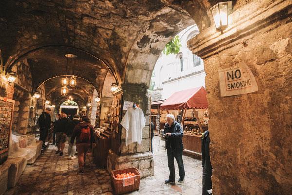 Märkte sind auch in Kotor sehr beliebt
