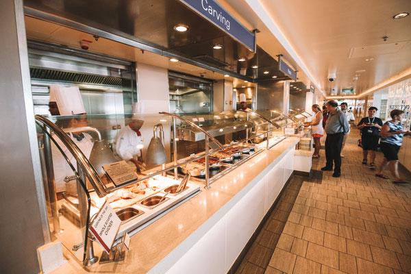 Buffetrestaurant auf der Norwegian Getaway