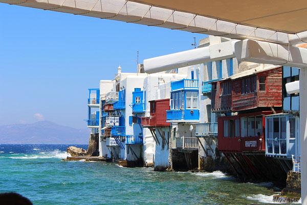 """Little Venice"" auf Mykonos"