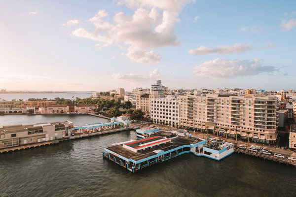 San Juan aus der Vogelperspektive