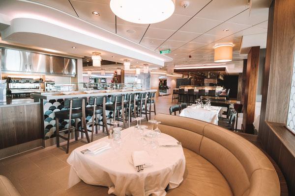 Ocean Blue Restaurant auf der Norwegian Getaway