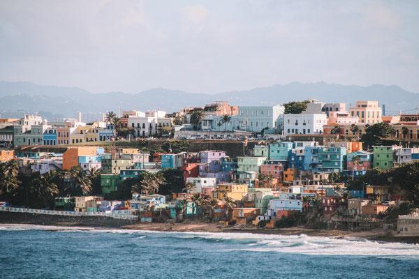 Einfahrt in San Juan, Puerto Rico