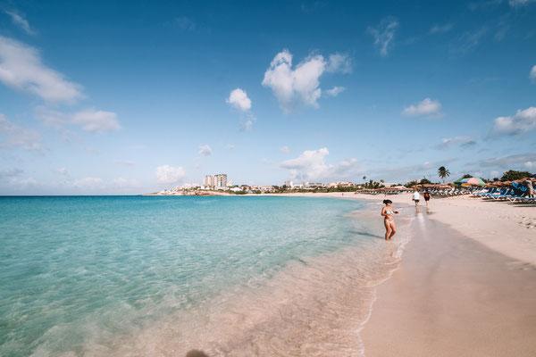 Karibischer Badespass auf St. Maarten