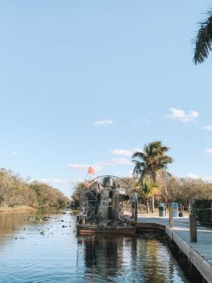 Tour über die Everglades