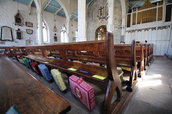 Die Stadtkirche von Southampton