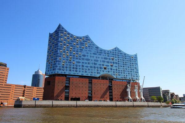Das Wahrzeichen Hamburgs: die Elbphilharmonie