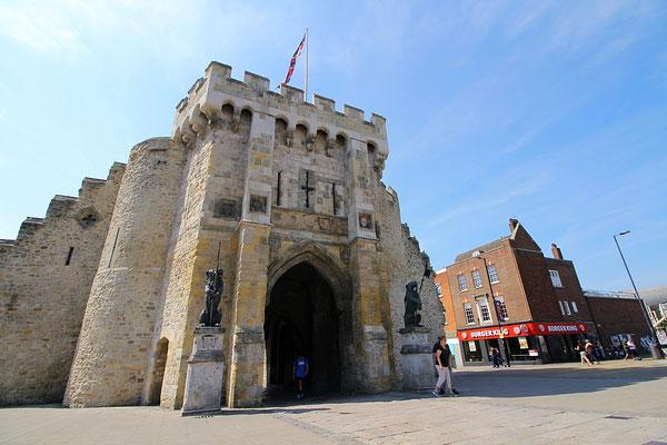 Der alte Stadteingang von Southampton