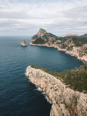 Das Cap de Formentor im Norden der Insel Mallorca