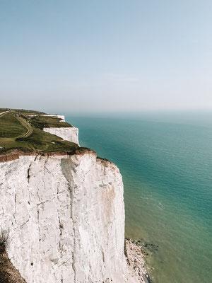 Die Weissen Klippen von Dover