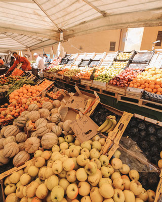 Frisches Obst auf dem Markt
