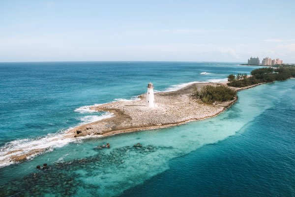 Der berühmte Leuchtturm in Nassau