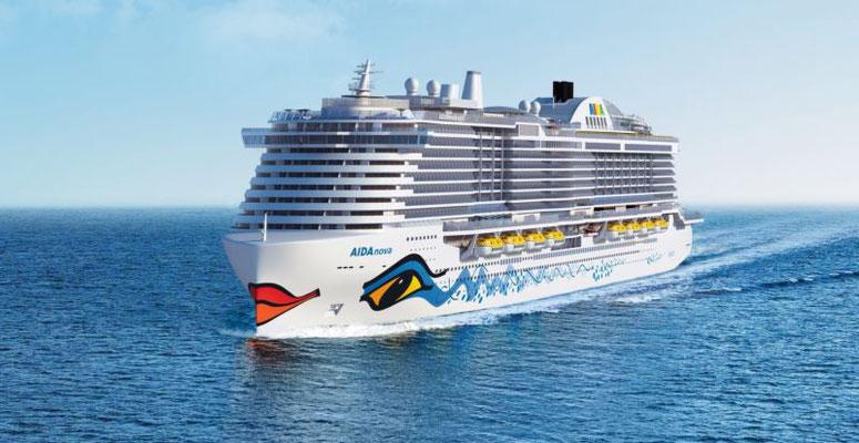 Animationsbilder der AIDAnova / ©AIDA Cruises