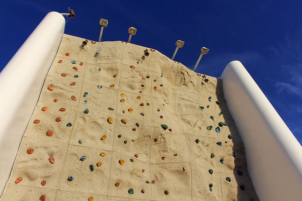 Die Rock Climbing Wall