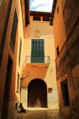 Gassen von Palma de Mallorca