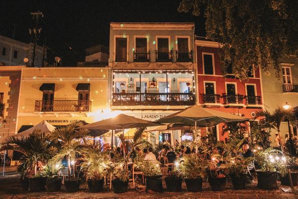 Evening vibes in San Juan