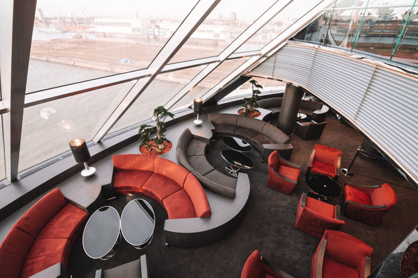 Die Top Sail Lounge an Bord der MSC Grandiosa
