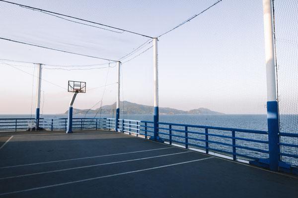 Der Sportbereich auf Deck 13