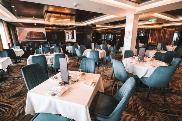 Savor Dining Room auf der Norwegian Getaway