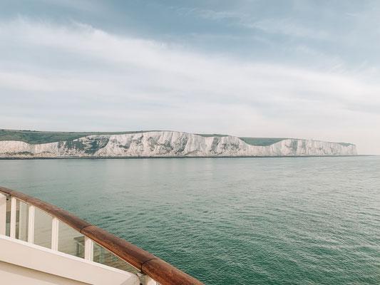Einfahrt in Dover