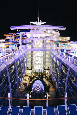 Der Central Park der Symphony of the Seas / ©Martin Melzer