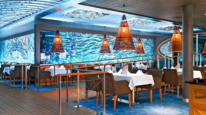 Das Ocean's Restaurant an Bord / ©AIDA Cruises