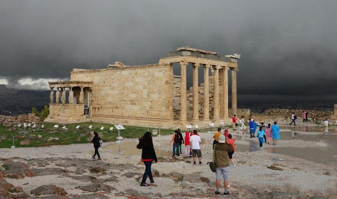 Die Akropolis bei Athen