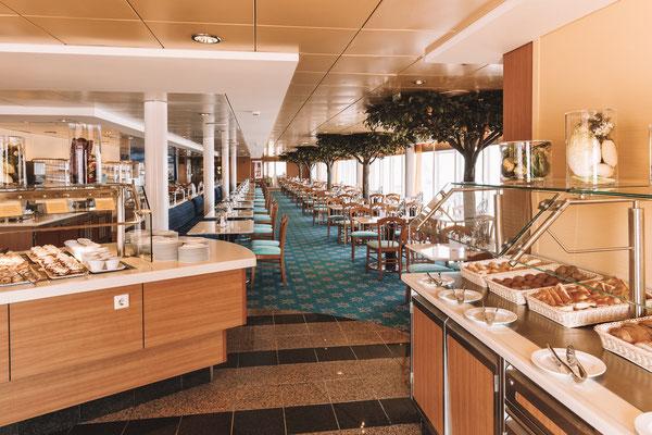 Das Buffetrestaurant Vernazza (Bild: Costa Kreuzfahrten)