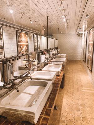 Die Toilette im El Nacional