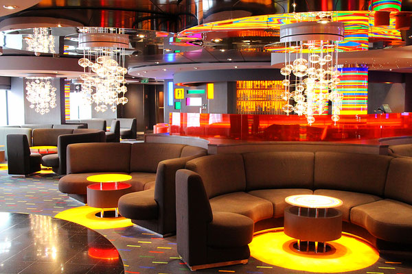 Die Jazz Bar - bunt und trotzdem stilvoll