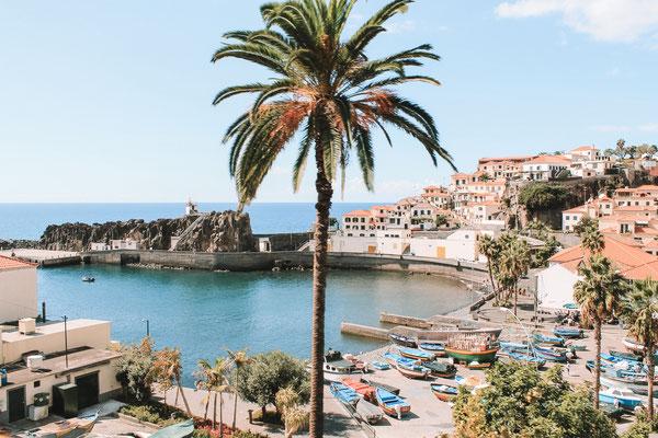 Kleines Fischerdorf in der Nähe von Funchal