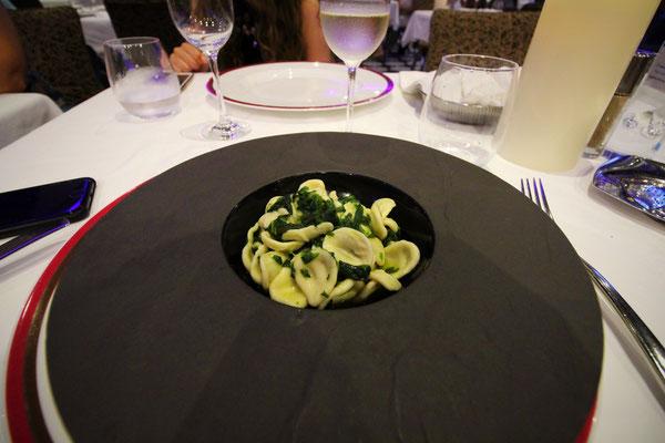 Ein 5 Gänge Menu im Suiten Restaurant
