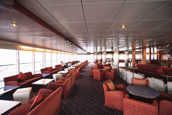 Der Club Portofino auf Deck 12