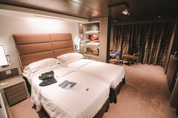 Unsere Deluxe Suite im Yacht Club