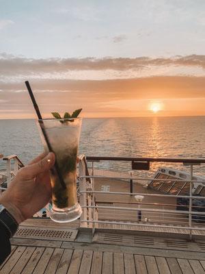 Ein Mojito an Bord kostet Rund 9 US-Dollar