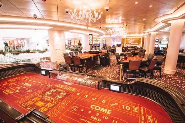 Das Casino an Bord der Norwegian Getaway