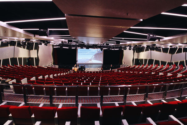 Broadway Theater an Bord der MSC Meraviglia