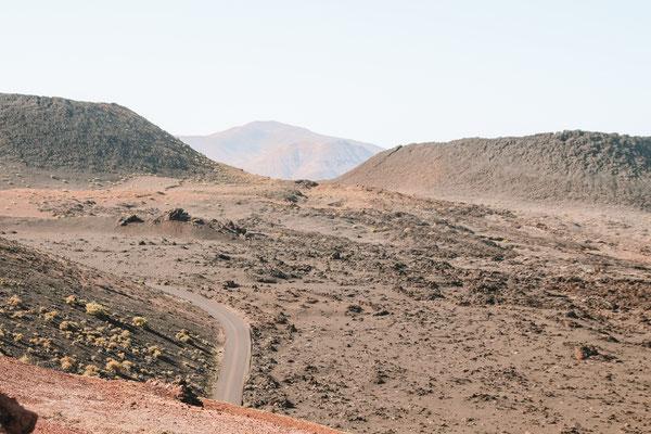 Timanfaya Nationalpark auf Lanzarote