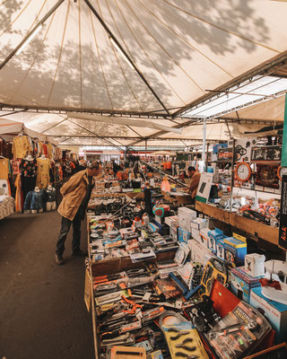 Der Markt von Civitavecchia