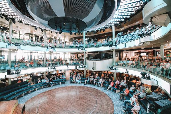 Das Theatrium mit über 2000 Plätze
