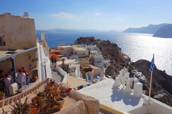Oia auf der griechischen Insel Santorini