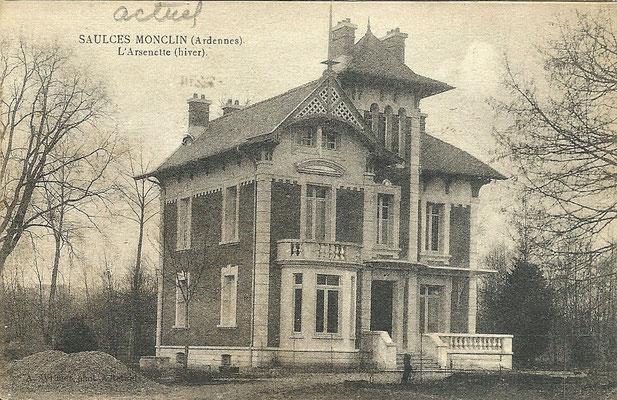 La villa l'Arsenette - coll. Fr. Guérin