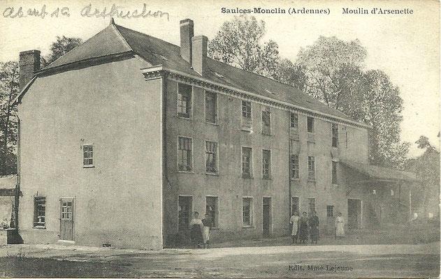 Le moulin d'En-Bas ou de l'Arsenette - coll. Fr. Guérin