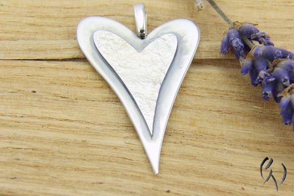 Anhänger Silber, Herz