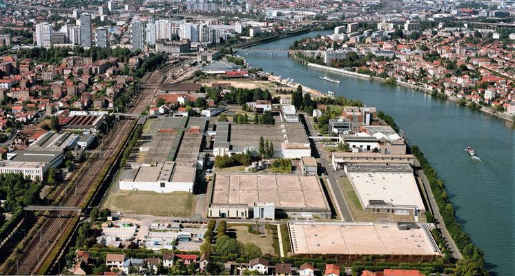 L'usine Edmond Pépin de Choisy-le-Roi capte l'eau de la Seine.