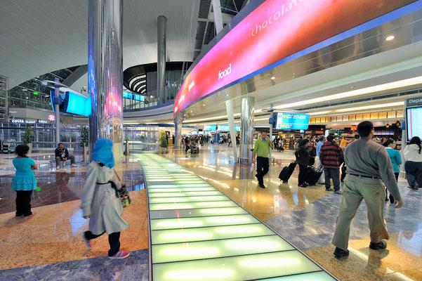 Flughafen in Dubai